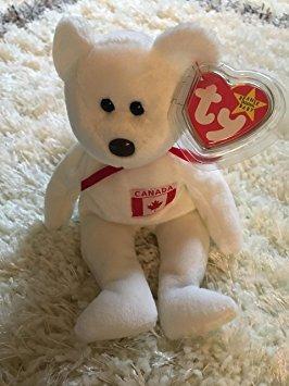 juguete de colección ty beanie babies - el oso de arce