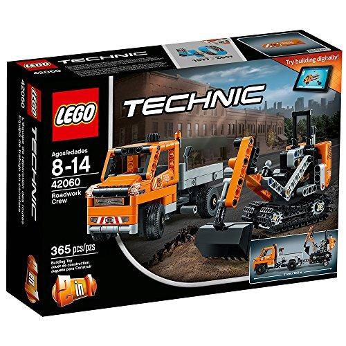 juguete de construcción lego technic roadwork crew 42060