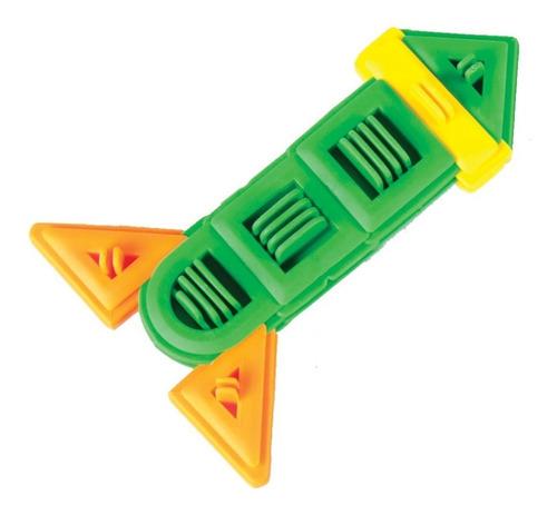 juguete de ensamble flexigeometrix de plástico flexible