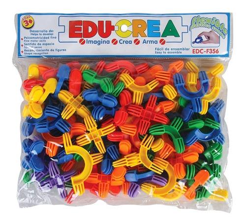 juguete de ensamble flexilineas de plastico flexible