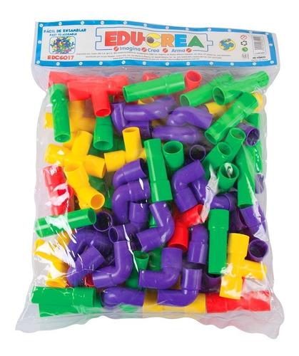 juguete de ensamble tuberías de plastico