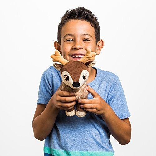 juguete de felpa mas dulce del reno del bebe de karamelli pa