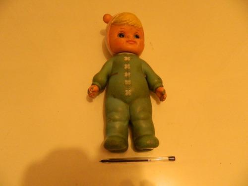 juguete de goma dura  bien antiguo..