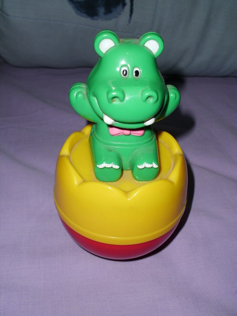 juguete de hipopotamo bamboleante - pivot