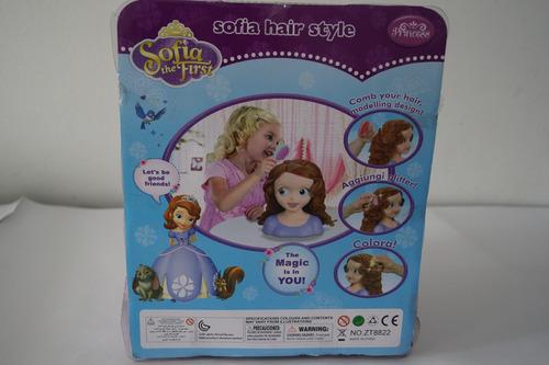 juguete de la princesita sofia para peinar