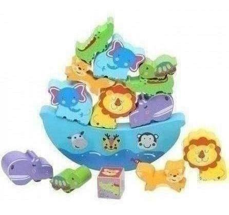 juguete de madera arca de noe baby way bw-jm18 multicolores