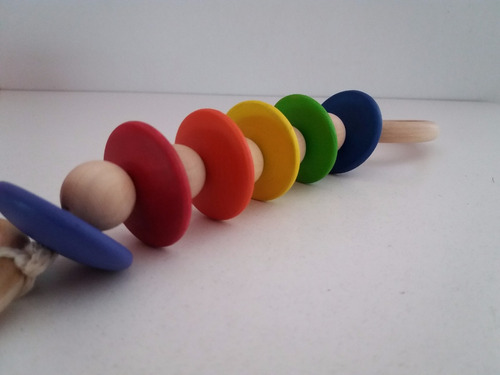 juguete de madera didáctico, pedagogía montessori / waldorf