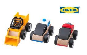 De Lillabo Juguete Ikea Madera Carritos Montessori 3 BrxCdoe