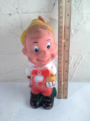 juguete de pinocho plastico blando clave 2180