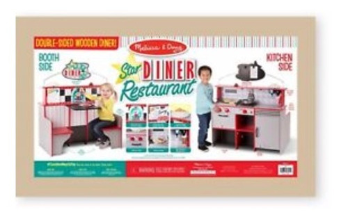 juguete   de restaurante melissa & doug