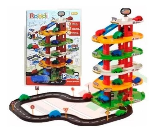 juguete de rondi para nene estación parking 5 niveles 7001