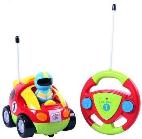 juguete del control de radio de coche / c de dibujos animad