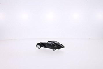 juguete delage d8 120-s pourtout aero coupe, negro, rhd, 19
