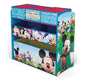 juguete delta niños de mickey mouse multi bin