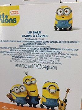 juguete despicable me minions lip balm