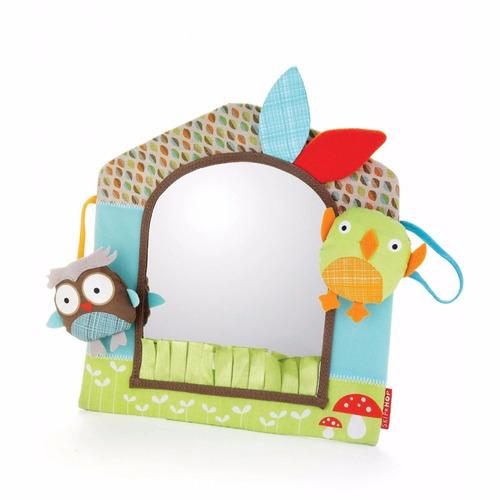 juguete didáctico auto o casa espejo actividades skip hop