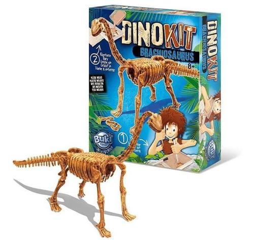 juguete didáctico buki dino kit braquiosaurio