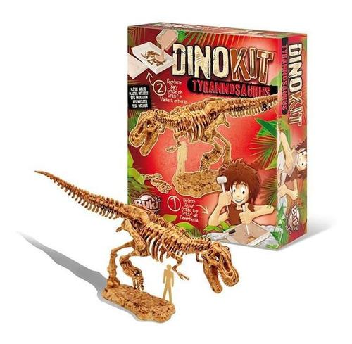 juguete didáctico buki dino kit t-rex