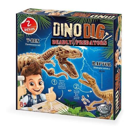 juguete didáctico buki excava dinosaurios dino dig