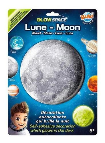 juguete didáctico buki luna que brilla en la oscuridad