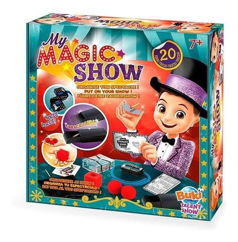 juguete didáctico buki mi show de magia