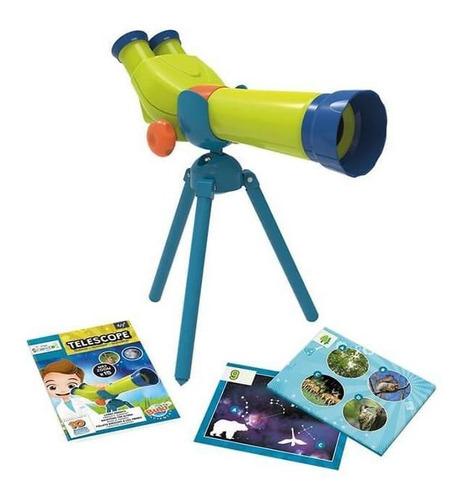 juguete didáctico de ciencia buki mini ciencia telescopio