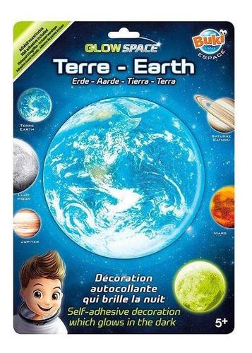 juguete didáctico de ciencia buki planeta que brilla en la o