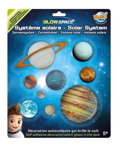 juguete didáctico de ciencia buki sistema solar fosforescent