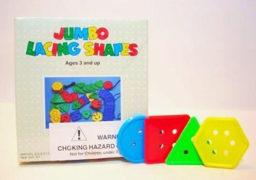 juguete didáctico de figuras geométricas gigantes