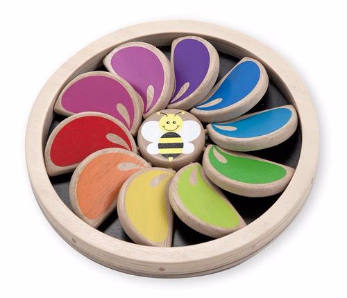 juguete didáctico de madera  melissa & doug (juego original)