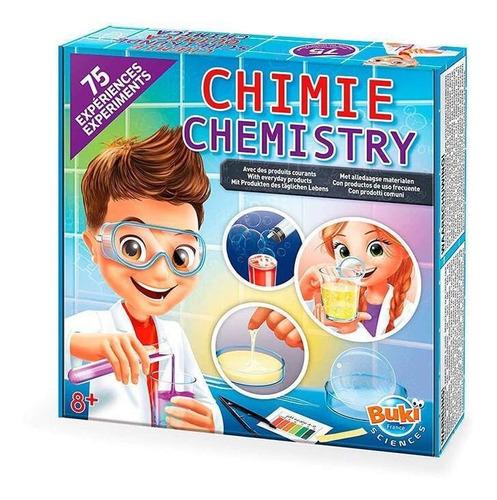 juguete didáctico de química buki laboratorio de química, 75