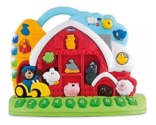 juguete didactico granja sonora bilingue chicco en creciendo