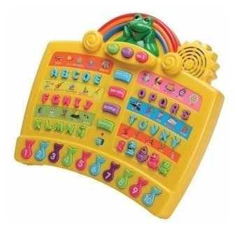 juguete didáctico infantoys abecedario divertido musical luz