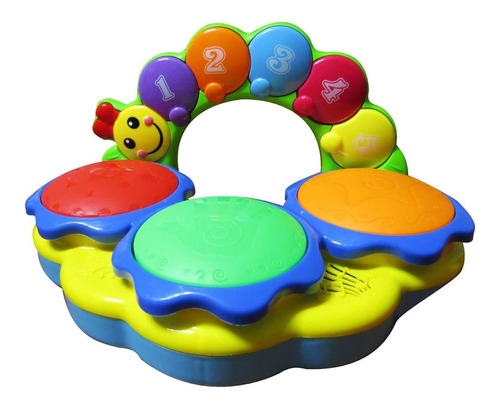 juguete didactico mi primer tambor tamborcito musical zippy