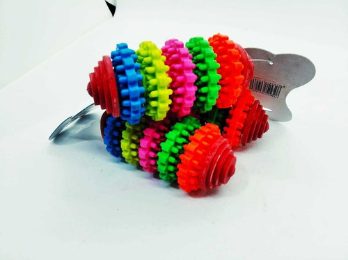 juguete diferencial pesa 6 ruedas de colores mediano perro