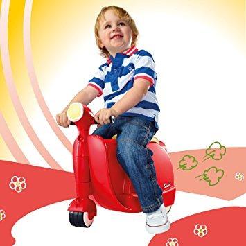 juguete diggin skootcase ride on, rojo, 8