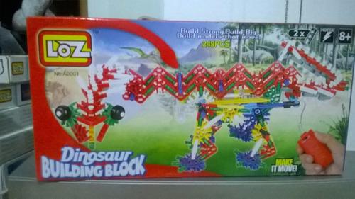 juguete dinosaurio para armar electrico
