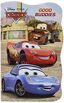 juguete disney cars mesa libros - juego de 2 (disney / pixa