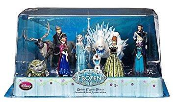 juguete disney congelado deluxe figura playset - 10 piezas