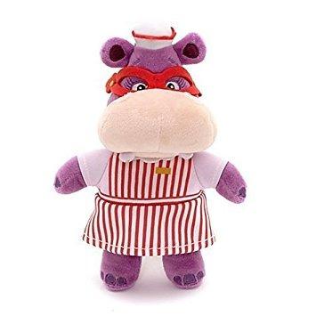 juguete disney jr doctora juguetes hallie hippo bean bag mu