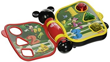 juguete disney mickey mouse primer libro de aprendizaje, fo
