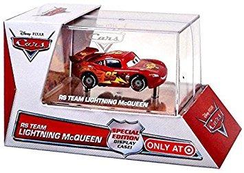 juguete disney / pixar cars 143 fundió el coche rs equipo r
