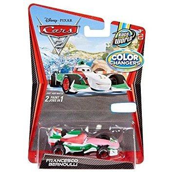 juguete disney / pixar cars 2 francesco color cambiadores d