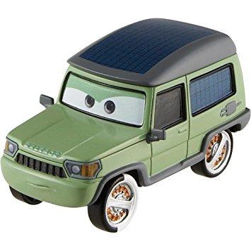 juguete disney / pixar cars 2 movie 155 die cast car #17 mi