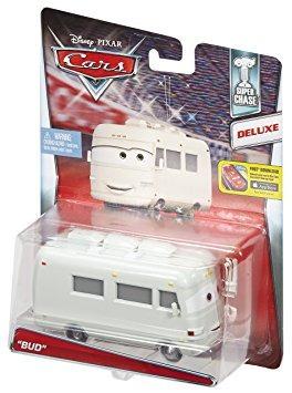juguete disney / pixar cars bud vehículo