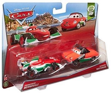 juguete disney / pixar cars colector de vehículo (2-pack),