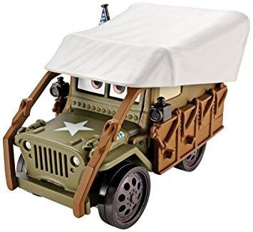 juguete disney / pixar cars, el radiador salta 500 w60