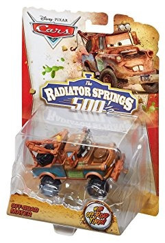 juguete disney / pixar cars el radiador salta w48