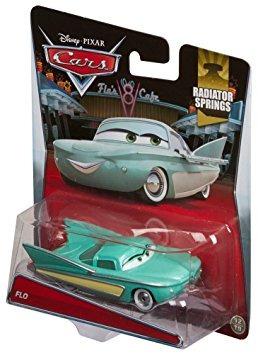 juguete disney / pixar cars flo fundió el vehículo, 0155 es