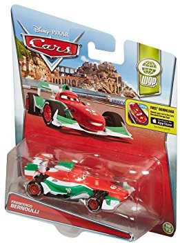 juguete disney / pixar cars francesco bernoulli vehículo